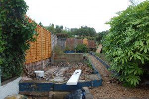 Hollingdean Garden Makeover Before 2015
